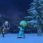 ラギ雪原で遊ぶ